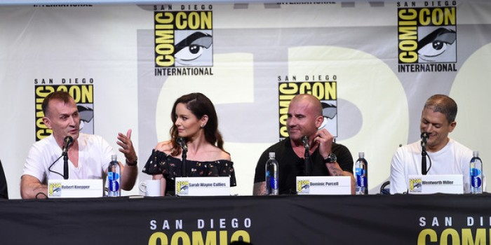 SARAH WAYNE CALLIES NA COMIC CON – PRISON BREAK